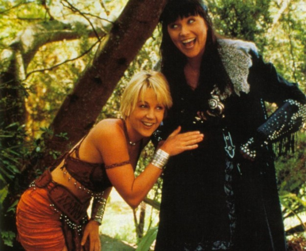 Sorry, can Gabrielle and xena warrior princess
