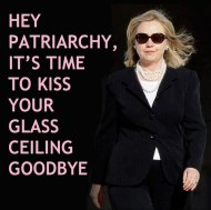 hillary-glass-ceiling-goodbye