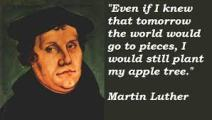 Martin Luther apple quote
