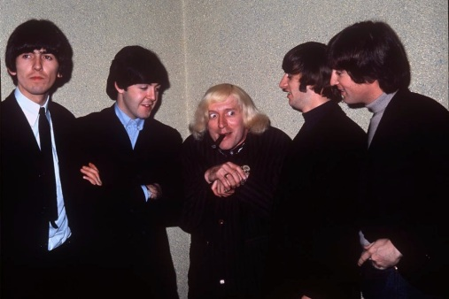 Image result for Elvis and Jimmy Savile