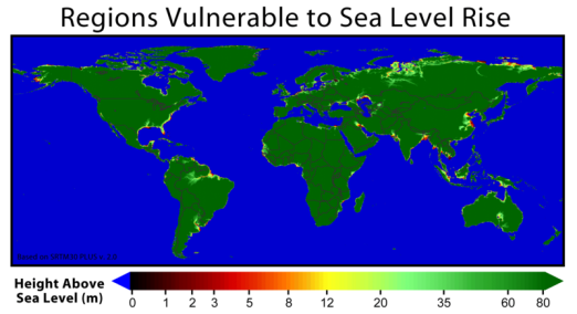 Image result for ocean levels rise global