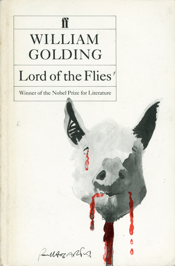 the inherently good and bad characters in lord of the flies a novel by william golding