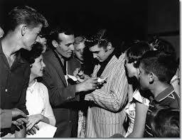 Elvis and Carl Perkins